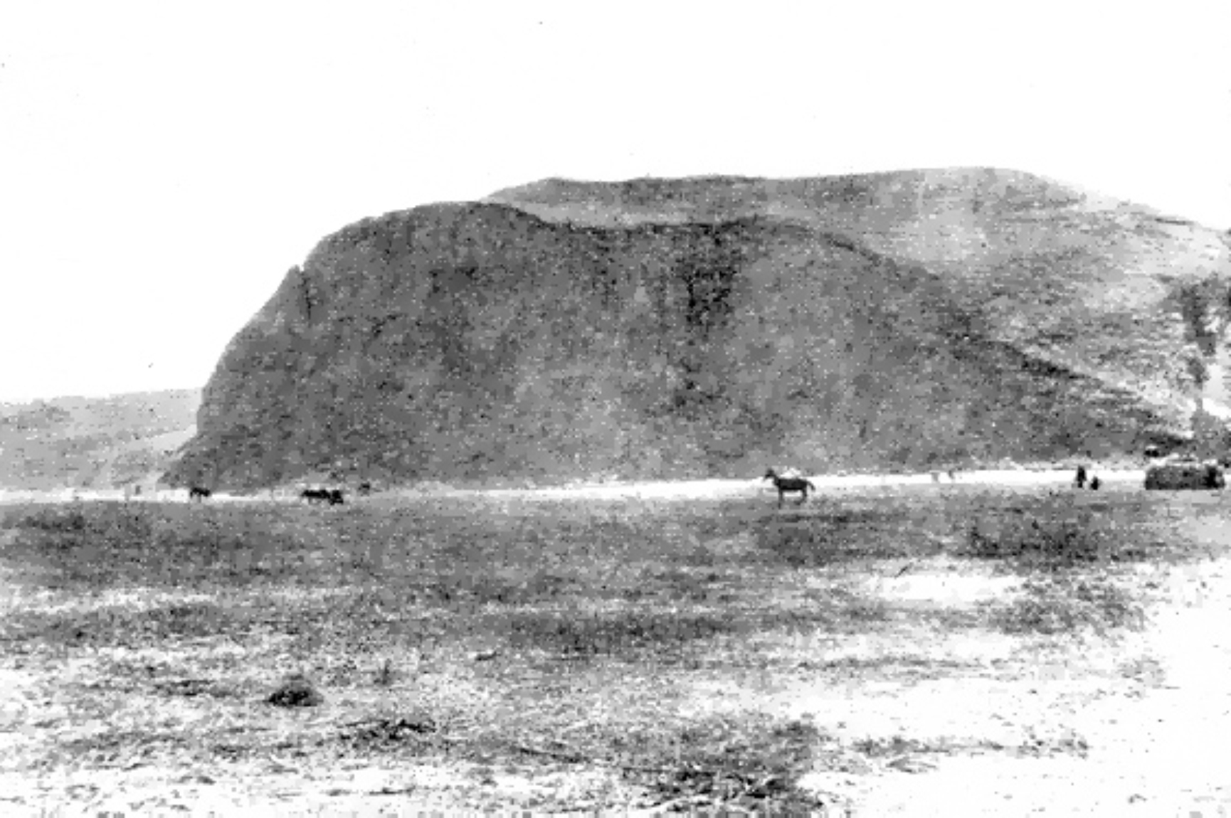 Sultana tell settlement, 1923