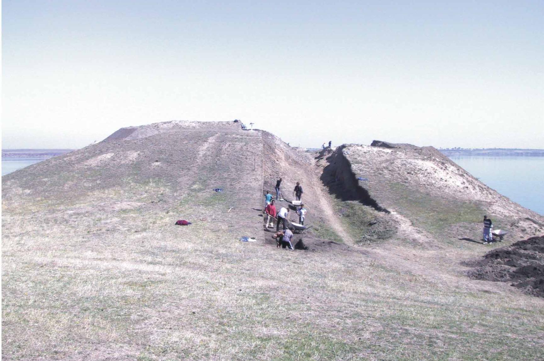 Sultana tell settlement, 2001